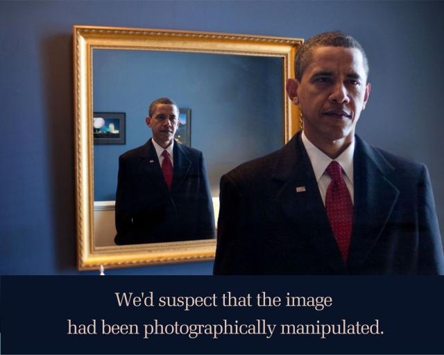 Obama Freaky Mirror